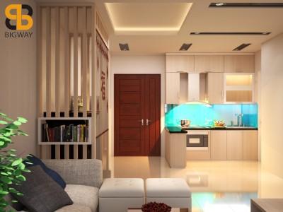 Thiết kế chung cư nhà anh Nam PCC1 Complex