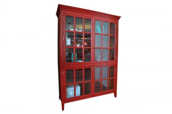Tủ Ly Louis Màu Đỏ