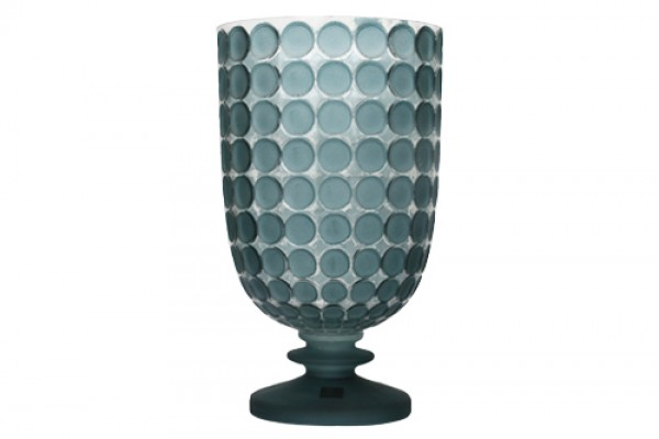 Bình Trang Trí Ball Glass Blue