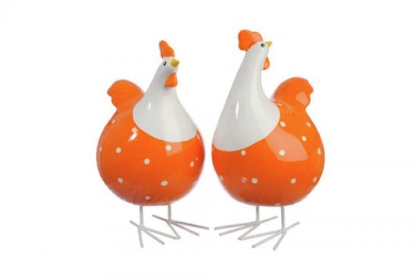 Tượng Gà Trang Trí Orange