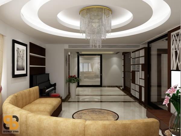 Thiết kế, thi công nội thất nhà anh Linh
